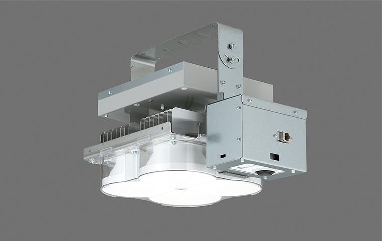 TOSHIBA カメラ付LED照明『ViewLED(ビューレッド)』高天井照明